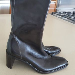 Brown Leather Ann Taylor boots